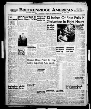 Primary view of object titled 'Breckenridge American (Breckenridge, Tex.), Vol. 30, No. 158, Ed. 1 Sunday, June 4, 1950'.