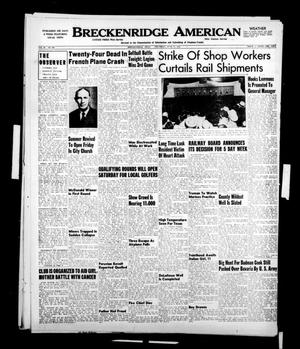 Primary view of object titled 'Breckenridge American (Breckenridge, Tex.), Vol. 30, No. 168, Ed. 1 Thursday, June 15, 1950'.
