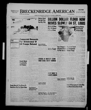 Primary view of object titled 'Breckenridge American (Breckenridge, Tex.), Vol. 31, No. 179, Ed. 1 Sunday, July 22, 1951'.