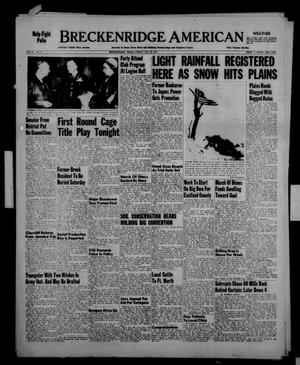 Primary view of object titled 'Breckenridge American (Breckenridge, Tex.), Vol. 33, No. 15, Ed. 1 Friday, January 23, 1953'.