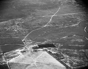 [Aerial Photograph of Deaf Smith County in Winter]