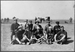 Primary view of object titled '[Hereford Baseball Team]'.