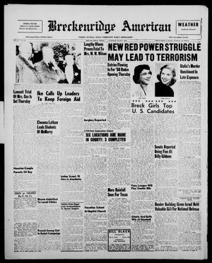 Primary view of Breckenridge American (Breckenridge, Tex.), Vol. 36, No. 110, Ed. 1 Tuesday, June 5, 1956