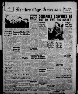 Primary view of object titled 'Breckenridge American (Breckenridge, Tex.), Vol. 37, No. 3, Ed. 1 Thursday, January 3, 1957'.