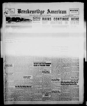 Primary view of object titled 'Breckenridge American (Breckenridge, Tex.), Vol. 37, No. 86, Ed. 1 Wednesday, May 1, 1957'.