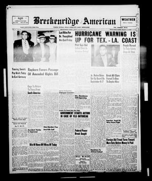 Primary view of object titled 'Breckenridge American (Breckenridge, Tex.), Vol. 37, No. 158, Ed. 1 Friday, August 9, 1957'.