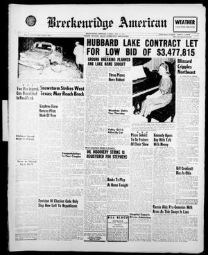 Breckenridge American (Breckenridge, Tex.), Vol. 41, No. 73, Ed. 1 Tuesday, December 13, 1960