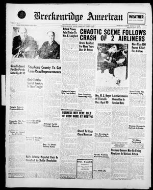 Breckenridge American (Breckenridge, Tex.), Vol. 41, No. 76, Ed. 1 Friday, December 16, 1960