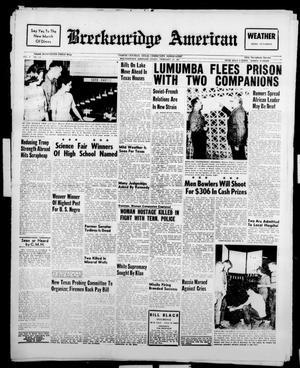 Breckenridge American (Breckenridge, Tex.), Vol. 41, No. 116, Ed. 1 Friday, February 10, 1961