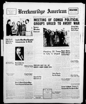 Breckenridge American (Breckenridge, Tex.), Vol. 41, No. 121, Ed. 1 Friday, February 17, 1961