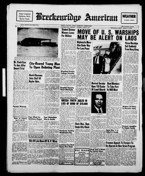 Breckenridge American (Breckenridge, Tex.), Vol. 41, No. 145, Ed. 1 Thursday, March 23, 1961