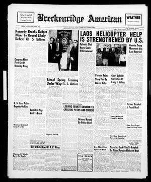 Breckenridge American (Breckenridge, Tex.), Vol. 41, No. 146, Ed. 1 Friday, March 24, 1961