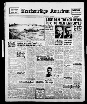 Breckenridge American (Breckenridge, Tex.), Vol. 41, No. 149, Ed. 1 Wednesday, March 29, 1961