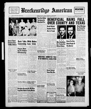 Breckenridge American (Breckenridge, Tex.), Vol. 41, No. 150, Ed. 1 Thursday, March 30, 1961