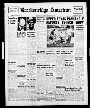 Breckenridge American (Breckenridge, Tex.), Vol. 41, No. 151, Ed. 1 Friday, March 31, 1961
