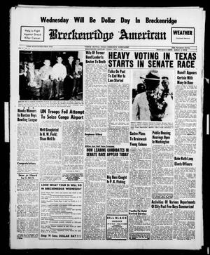 Breckenridge American (Breckenridge, Tex.), Vol. 41, No. 153, Ed. 1 Tuesday, April 4, 1961