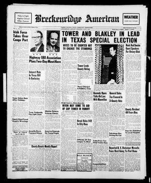 Breckenridge American (Breckenridge, Tex.), Vol. 41, No. 154, Ed. 1 Wednesday, April 5, 1961