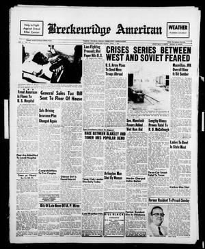 Breckenridge American (Breckenridge, Tex.), Vol. 41, No. 156, Ed. 1 Friday, April 7, 1961