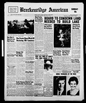 Breckenridge American (Breckenridge, Tex.), Vol. 41, No. 147, Ed. 1 Sunday, March 26, 1961