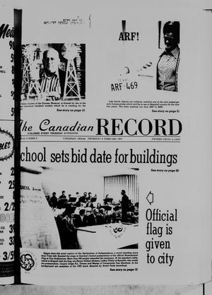 The Canadian Record (Canadian, Tex.), Vol. 86, No. 6, Ed. 1 Thursday, February 6, 1975