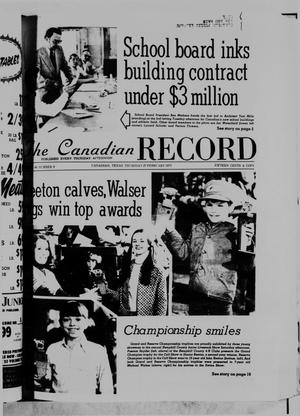 Primary view of object titled 'The Canadian Record (Canadian, Tex.), Vol. 86, No. 9, Ed. 1 Thursday, February 27, 1975'.