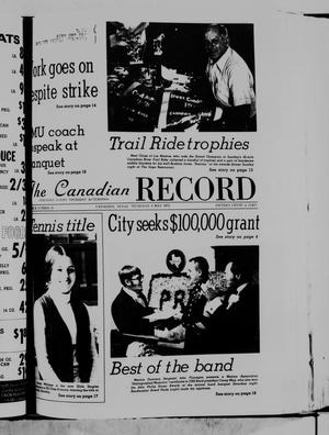 Primary view of object titled 'The Canadian Record (Canadian, Tex.), Vol. 86, No. 19, Ed. 1 Thursday, May 8, 1975'.