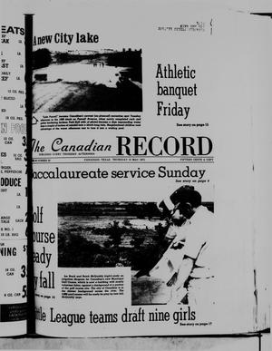Primary view of object titled 'The Canadian Record (Canadian, Tex.), Vol. 86, No. 20, Ed. 1 Thursday, May 15, 1975'.