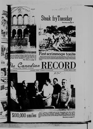The Canadian Record (Canadian, Tex.), Vol. 86, No. 34, Ed. 1 Thursday, August 21, 1975