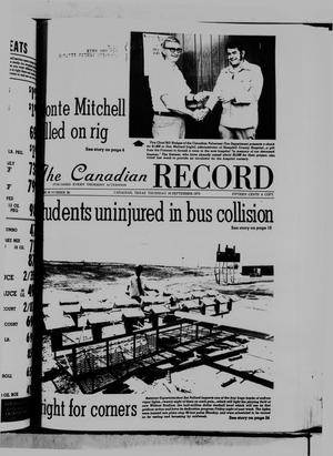 The Canadian Record (Canadian, Tex.), Vol. 86, No. 38, Ed. 1 Thursday, September 18, 1975