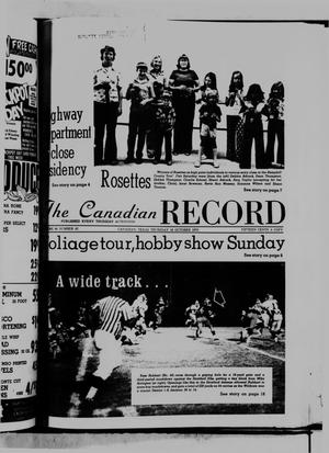Primary view of object titled 'The Canadian Record (Canadian, Tex.), Vol. 86, No. 42, Ed. 1 Thursday, October 16, 1975'.