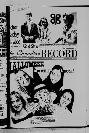 Primary view of object titled 'The Canadian Record (Canadian, Tex.), Vol. 86, No. 44, Ed. 1 Thursday, October 30, 1975'.