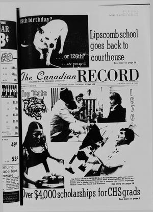 Primary view of object titled 'The Canadian Record (Canadian, Tex.), Vol. 87, No. 22, Ed. 1 Thursday, May 27, 1976'.
