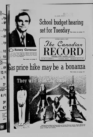The Canadian Record (Canadian, Tex.), Vol. 87, No. 31, Ed. 1 Thursday, July 29, 1976