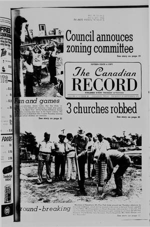 Primary view of object titled 'The Canadian Record (Canadian, Tex.), Vol. 87, No. 39, Ed. 1 Thursday, September 23, 1976'.