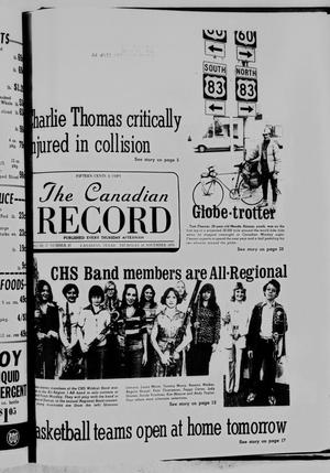 Primary view of object titled 'The Canadian Record (Canadian, Tex.), Vol. 87, No. 47, Ed. 1 Thursday, November 18, 1976'.