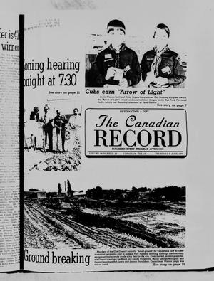 Primary view of object titled 'The Canadian Record (Canadian, Tex.), Vol. 88, No. 23, Ed. 1 Thursday, June 9, 1977'.
