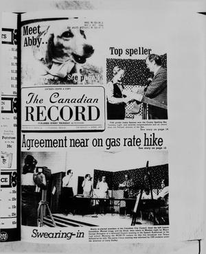 Primary view of object titled 'The Canadian Record (Canadian, Tex.), Vol. 89, No. 14, Ed. 1 Thursday, April 6, 1978'.