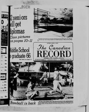 Primary view of object titled 'The Canadian Record (Canadian, Tex.), Vol. 89, No. 20, Ed. 1 Thursday, May 18, 1978'.