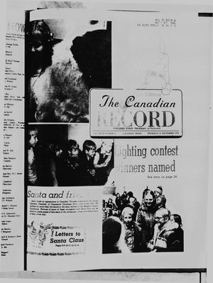 Primary view of object titled 'The Canadian Record (Canadian, Tex.), Vol. 89, No. 51, Ed. 1 Thursday, December 21, 1978'.