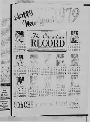 The Canadian Record (Canadian, Tex.), Vol. 89, No. 52, Ed. 1 Thursday, December 28, 1978