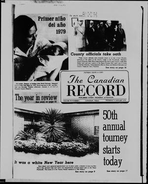 Primary view of object titled 'The Canadian Record (Canadian, Tex.), Vol. 90, No. 1, Ed. 1 Thursday, January 4, 1979'.
