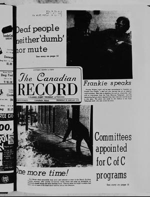 Primary view of object titled 'The Canadian Record (Canadian, Tex.), Vol. 90, No. 4, Ed. 1 Thursday, January 25, 1979'.