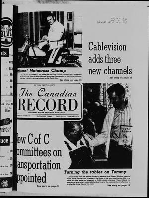 Primary view of object titled 'The Canadian Record (Canadian, Tex.), Vol. 90, No. 5, Ed. 1 Thursday, February 1, 1979'.