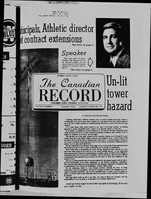 Primary view of object titled 'The Canadian Record (Canadian, Tex.), Vol. 90, No. 6, Ed. 1 Thursday, February 8, 1979'.