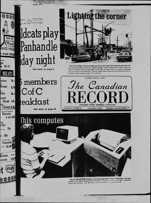 The Canadian Record (Canadian, Tex.), Vol. 90, No. 38, Ed. 1 Thursday, September 20, 1979