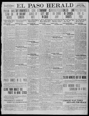 Primary view of object titled 'El Paso Herald (El Paso, Tex.), Ed. 1, Monday, January 3, 1910'.