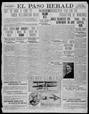 Primary view of object titled 'El Paso Herald (El Paso, Tex.), Ed. 1, Tuesday, January 4, 1910'.