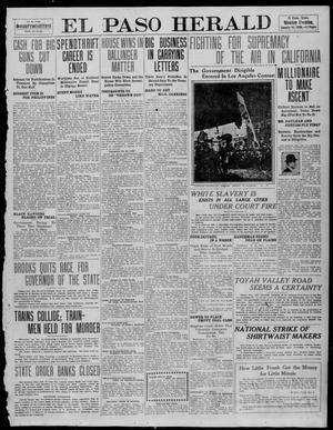 Primary view of object titled 'El Paso Herald (El Paso, Tex.), Ed. 1, Monday, January 10, 1910'.