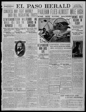 Primary view of object titled 'El Paso Herald (El Paso, Tex.), Ed. 1, Thursday, January 13, 1910'.
