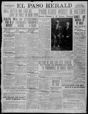 Primary view of object titled 'El Paso Herald (El Paso, Tex.), Ed. 1, Tuesday, January 25, 1910'.